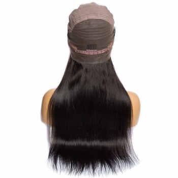 ALIBELE 360 レースフロントかつら事前摘み取らとベビーヘアー 150 密度ブラジルレミートレートグルーレスレースフロント人間の髪かつら