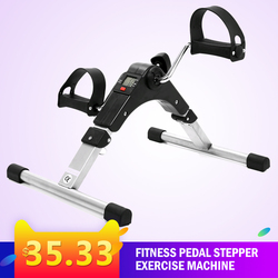 Fitness Equipment Body Building Fitness Pedal Stepper Exercise Machine LCD Display Indoor Cycling Bike Gym Equipment Mancuernas