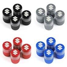 Valves de pneus de roues, 4 pièces, accessoires de voiture, boîtier pour Suzuki grand vitara sx4 swift Alto