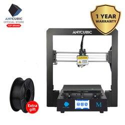 Impresora ANYCUBIC I3 Mega 3D de Metal completo Impresora 3d-impresora TFT pantalla táctil de alta precisión 3D Drucker Impresora