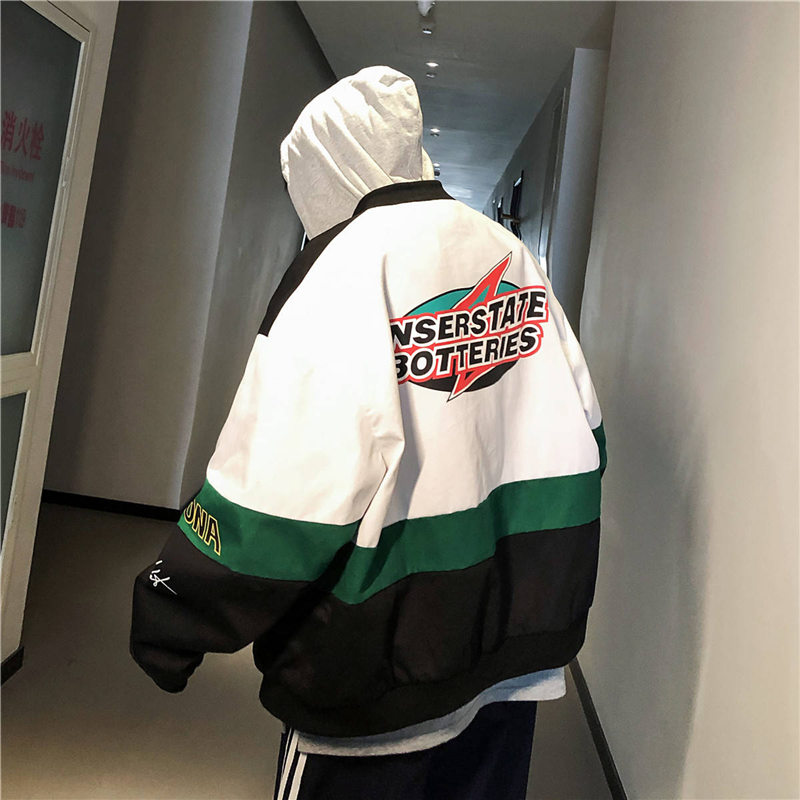 Jackets Mens New Hip Hop Brand Thin Tracksuit Coat Fashion Casual Streetwear Man Pattern Print Jacket Casual Hoodie Streetwear