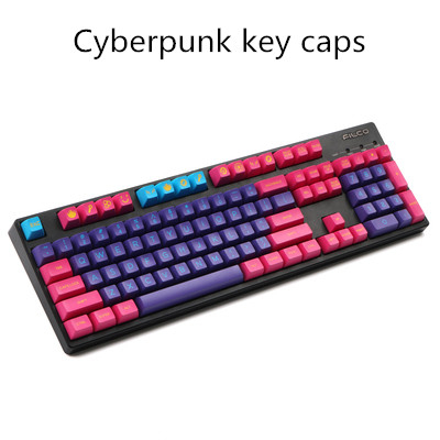 DOMIKEY Juego de teclas de doble disparo ABS, perfil SA, para teclado mecánico personalizado, 1 ud.