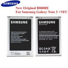 Batería 100% Original B800BE para Samsung Galaxy Note 3 N900 N9006 N9005 N9000 N900A N900T N900P N900K 3200mAh con NFC B800BU
