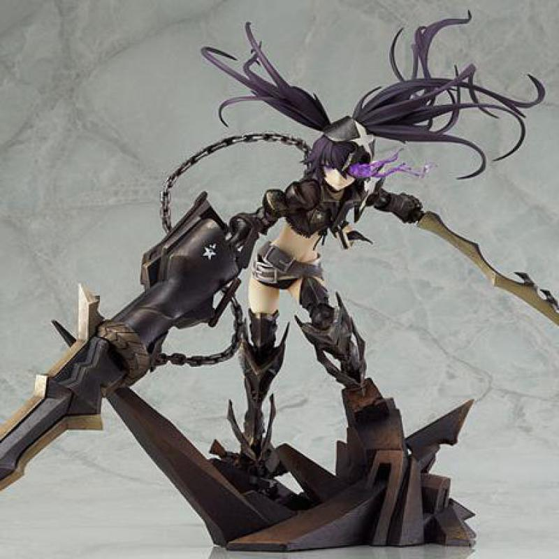 27.5cm Insane Black Rock Shooter Static Action Figure Sexy Girl High Quality Pvc Figurines Collectible Toys 1
