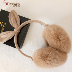 2019 Hot New Fashion Women's Fur Winter Earmuffs Cat Ears Earmuffs Warm Earmuffs A Variety Of Colors To Choose From.