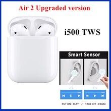 i500 TWS Earbuds 2 generations Version Replica 1:1 Wireless Earphone Smart Sensor Pop up Super Bass tws i200 pk i20 i60 i80 i100