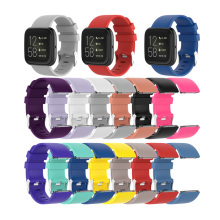 Silicone Solid Sports Strap For Fit Bit Versa 2 Lite Blaze Bracelet Waterproof Universal