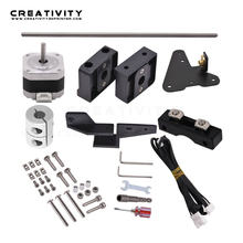 Dual Z Axis Lead Screw Upgrade Kits for Creality CR10 Ender3 Pro 3D Printer Accessories impressora 3d ender 3 pro dual z axis