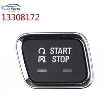 Botón de arranque de motor, pulsador de una tecla para Buick Regal 13308172 2009, botón de inicio de alta calidad, 2017