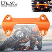 BJMOTO Motorcycle Handlebar Risers Top Cover Clamp For Duke 790 2018 2019 2020 CNC Aluminum Duke790  Riser Clamps Bridge Piece