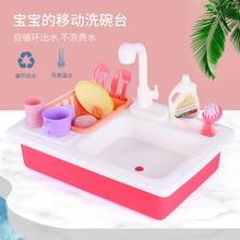 Douyin Стиль Знаменитостей посудомоечная машина игрушка детская модель игровой Дом Кухня Посуда стиральная Счетчик Автоматическая водосъемка Smal