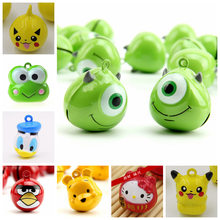 Cartoon Small Super Meng Pet Decorations Dogs And Cats Non-customizable DIY Necklace Keychain Dog(China)