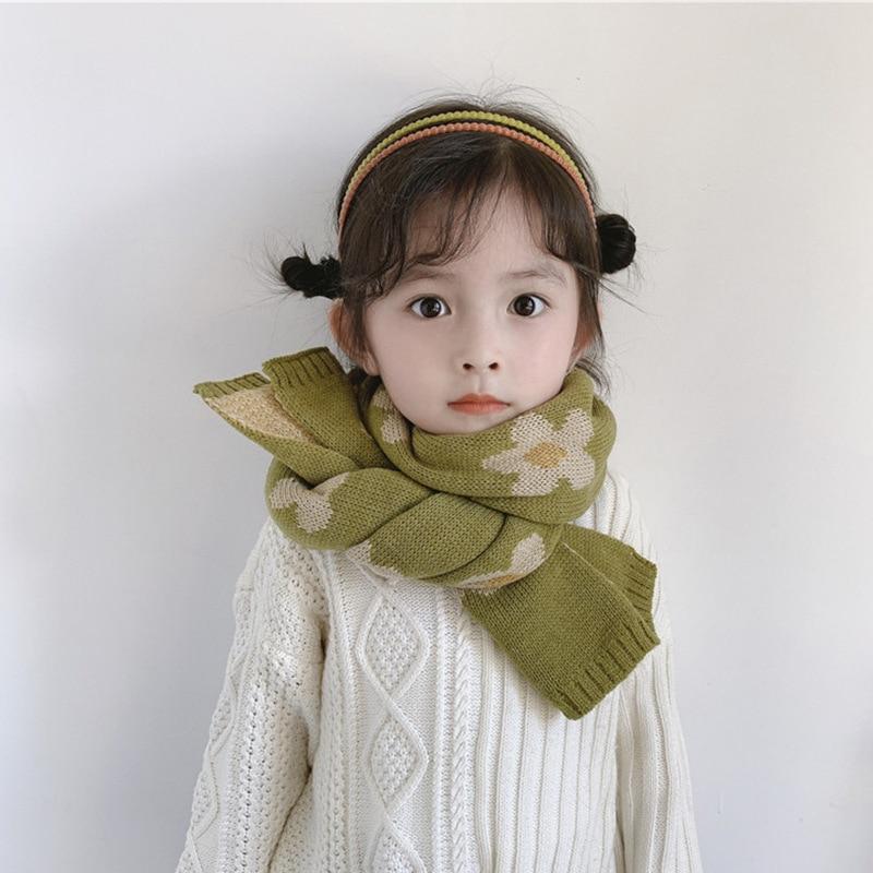 Fashion Kids Infants Boys Girls Winter Warm Kintted Scarf Wraps Neck Scarves New