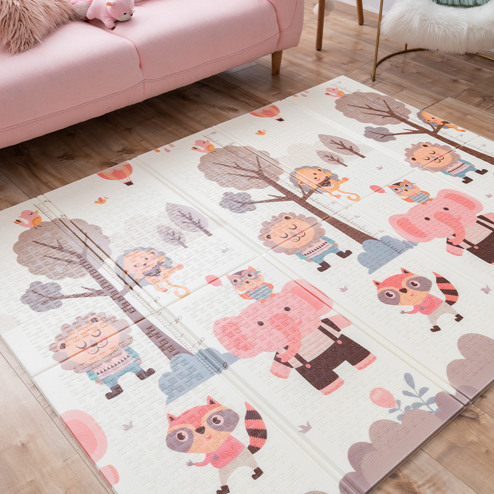 XPE Foldable Crawling Mat Children Carpet Playing Baby Rug Baby Play Pad Game Floor Mat For Kids Living Room Mats Puzzle Playmat
