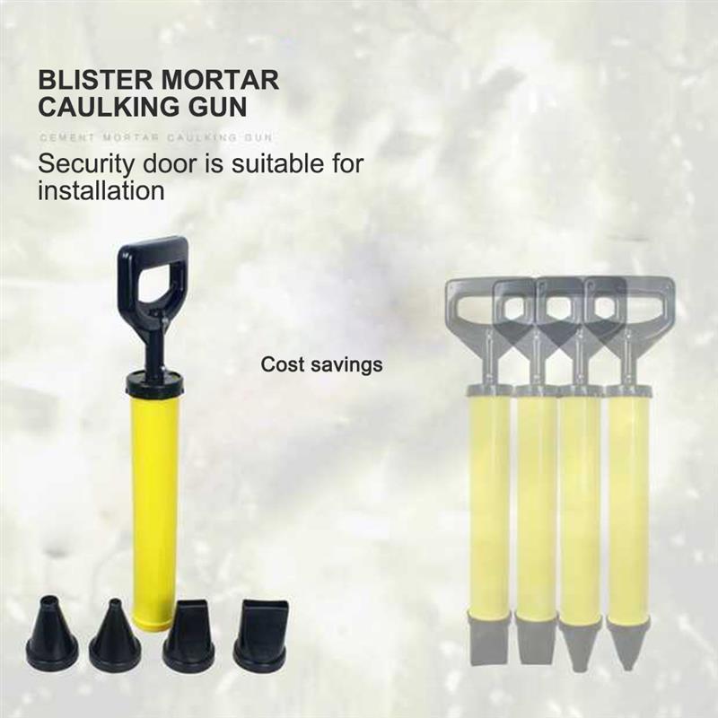Nueva pistola de calafateo de cemento de bomba de mortero de enlechado del rociador del aplicador de lechada de herramientas con 4 boquillas