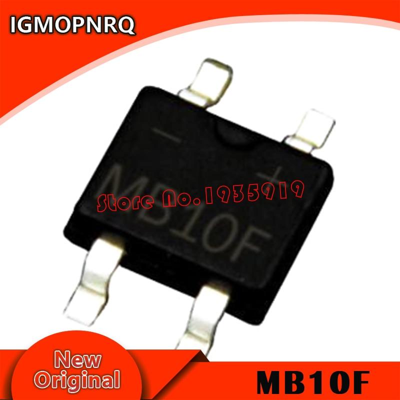 20PCS MB10F SOP-4 1A 1000V SMD New And Original