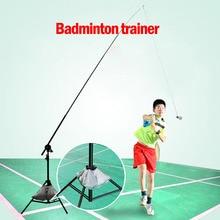 Badminton Trainer Racket Machine Ball Pitching Professional Badminton Accessories Automatic Rebound Robot Badminton Training Aid