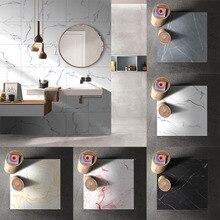 3D Floor Tile Stickers Marble Pattern Thicken Wearable Wall Waterproof Sticke