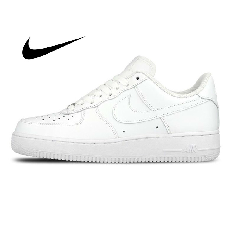 US $80.0 60% OFF|Original Nike AIR FORCE 1 Men's Skateboard Shoes Classic Leisure Jogging Sneakers Comfortable Anti slip Durable Low top 315122 on