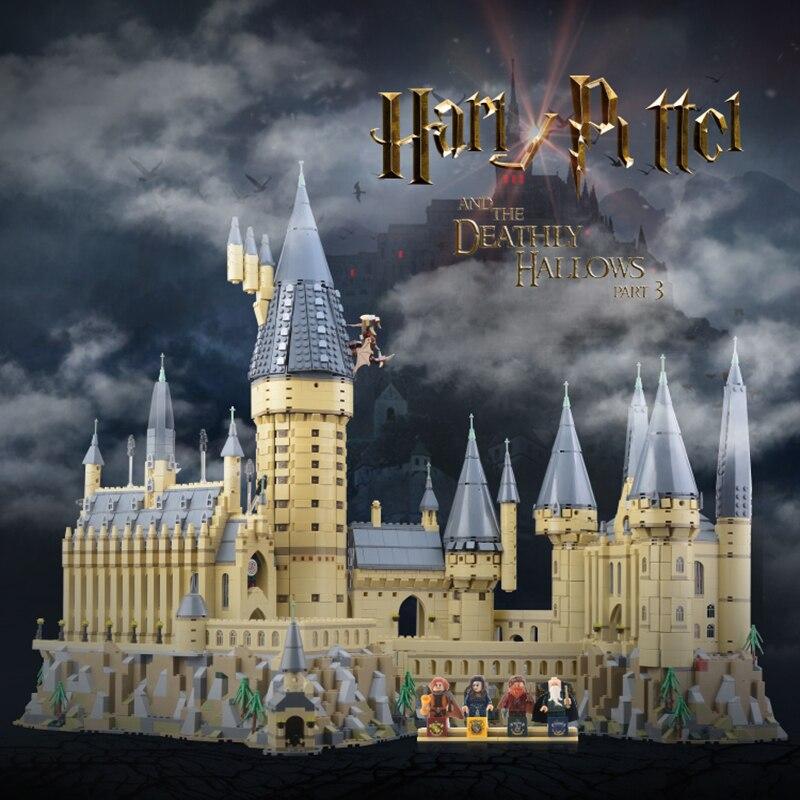 16060 Kits Modelo de Potter Movie Magic Castle 6742Pcs Bloco de Construção de Tijolos Brinquedos para Crianças Presente Compatível com 71043 números de casa - 2