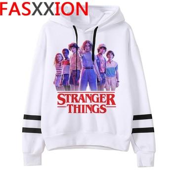 Stranger Things Hoodies Women Eleven Oversized Upside Down Graphic Sweatshirt Funny Hoodies Harajuku Unisex Streetwear Female 1