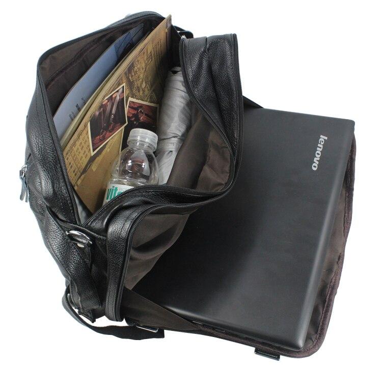 Di modo Multi Funzione di Borsa Da Viaggio In Pelle Pieno fiore Genuino di Cuoio degli uomini di Borsa di Viaggio Dei Bagagli del Sacchetto di Duffle Large Tote borsa week end - 6