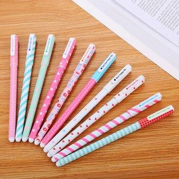 1pcs Cartoon Color Pattern Highlighter Pen Mini Marker Pens Kawaii Stationery Material Escolar Writing School Supplies