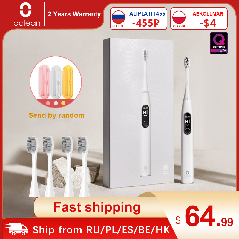 Electric Toothbrush Sonic World-Premiere Elite Smart Oclean-X-Pro Fast-Charging-Upgrade