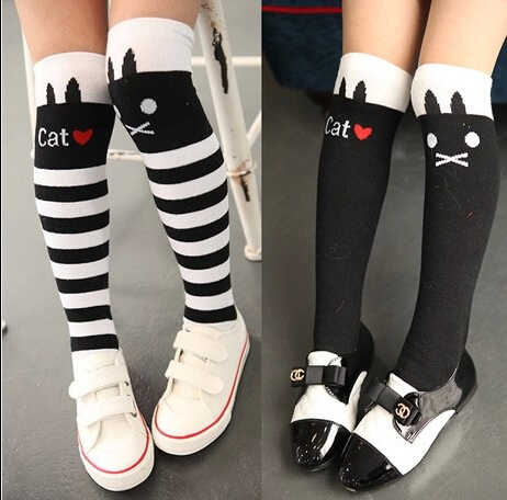 MAYA STEPAN 1 Pair Girls Stockings Baby Kids Children Winter Leg Warmers Toddlers Knee High Dancing Long Tights Ballet
