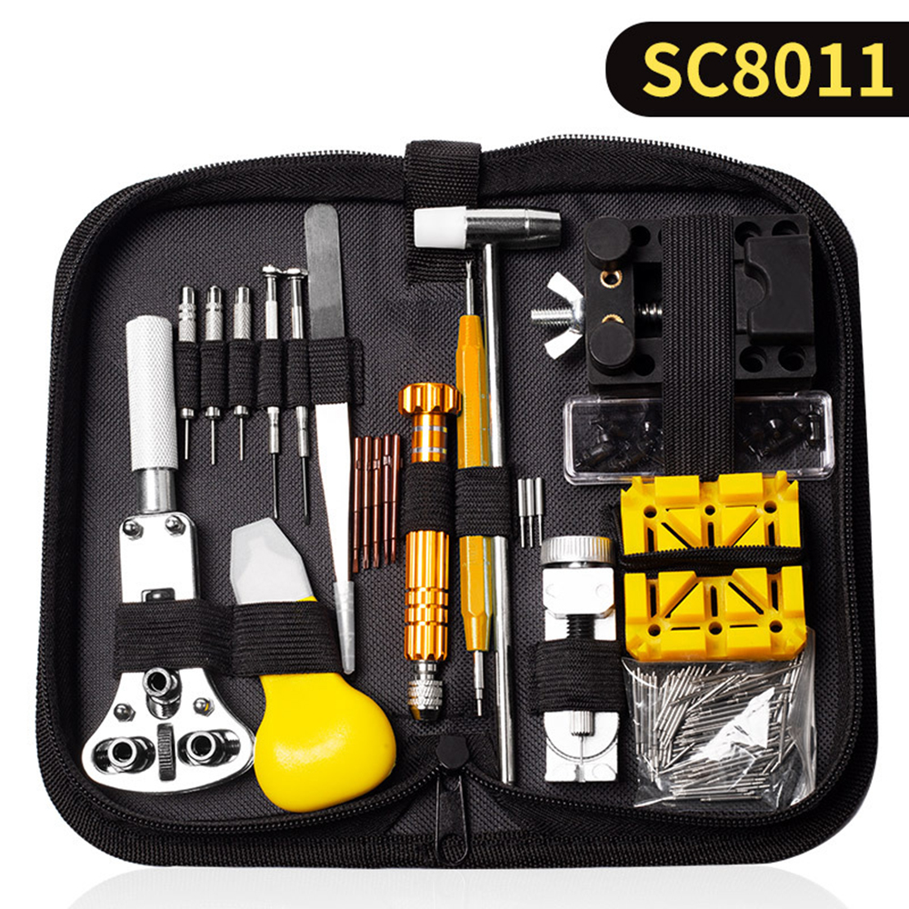 Professional Watch Tools Watch Opener Link Pin Remover Pry Screwdriver Watch Repair Tools Kit Clock watch parts
