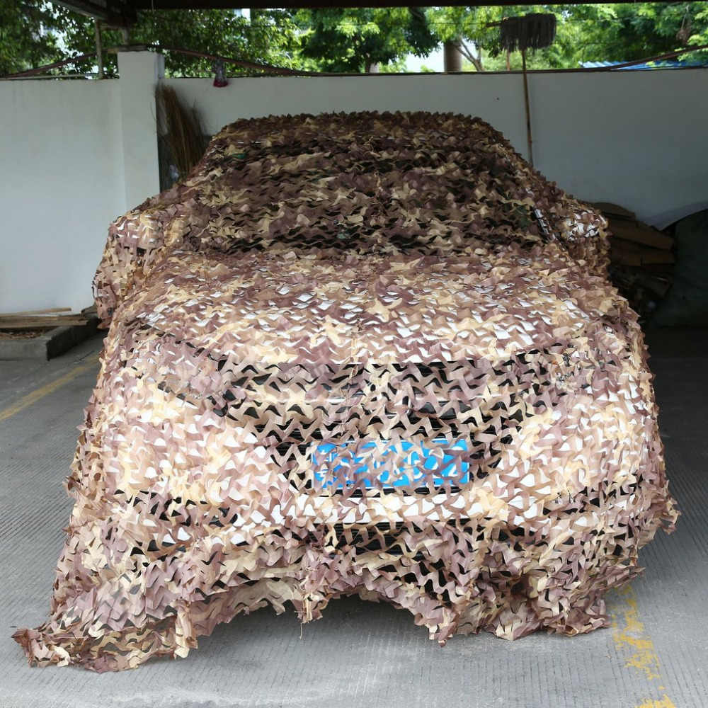Camouflage Net Army Military Camo Net Car Covering Tent Hunting Blinds Netting Jungle/Desert/White Cover Conceal  Net Newest