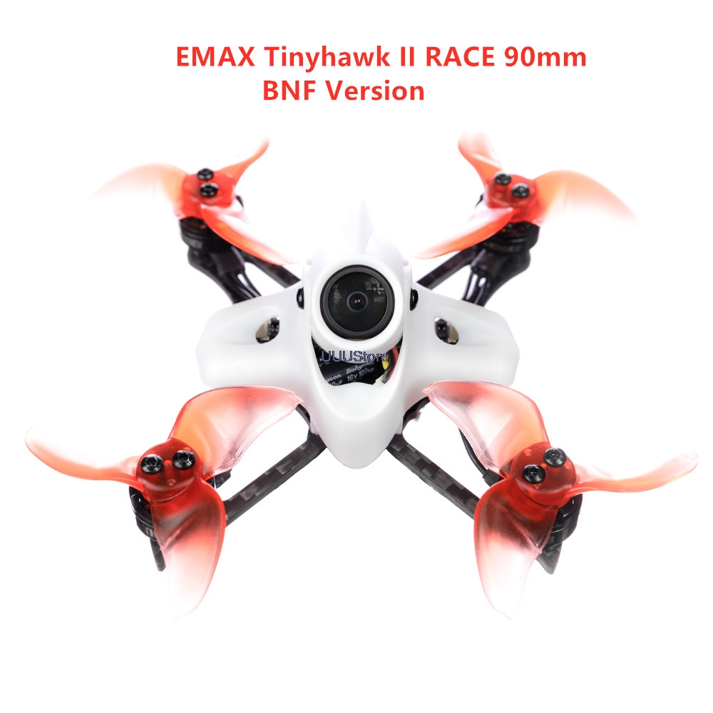 2020 New EMAX Tinyhawk II RACE 90mm 2S FPV RC Racing Drone Multirotor With AIO FC ESC RunCam Nono 2 37CH Raceband 200mW VTX
