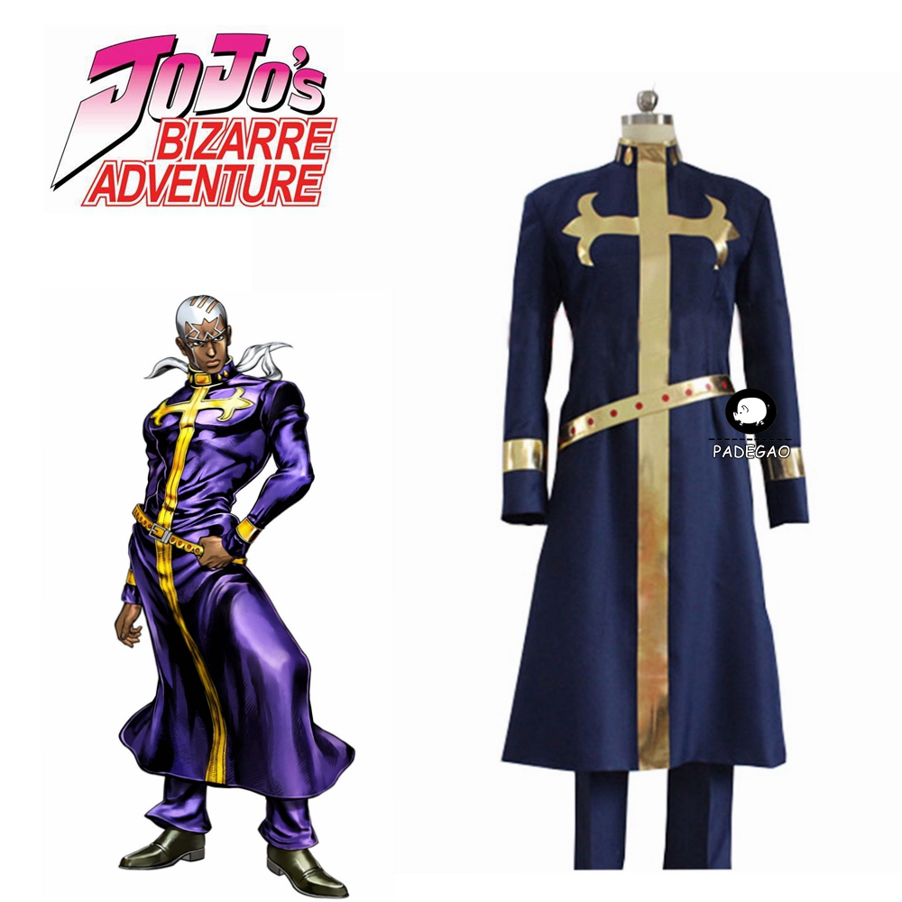 JoJo's Bizarre Adventure Enrico Pucci Cosplay Costume Halloween Party Costumes Christmas Uniform Outfits Custom Any Size