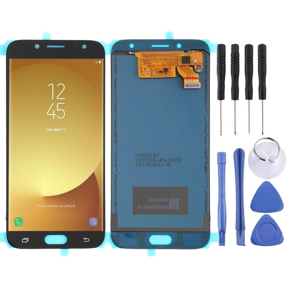 2017 <font><b>J7</b></font> Brightness <font><b>LCD</b></font> <font><b>Replaceable</b></font> Touchscreen Digitizer for Samsung Galaxy <font><b>J7</b></font> <font><b>Pro</b></font> J730 J730F image