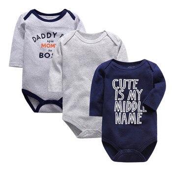Body de manga larga para bebés y niños de 3 a 24...