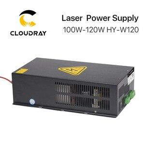 Image 3 - Cloudray fuente de alimentación láser CO2, 100 120W, para máquina cortadora de grabado láser CO2, HY W120 serie T / W