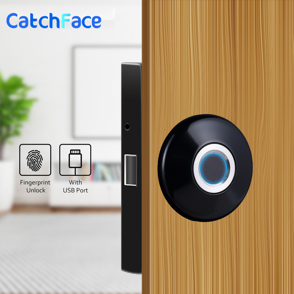 Door Locks Fingerprint,Drawer Cabinet Combination Lock, Electronic Smart Door Lock