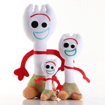 Disney 2020 Hotsale Cartoon Movie Toy Story 4 Plush Stuffed Toys woody 1pc 35cm Forky Soft Dolls Christmas Gifts for Kids