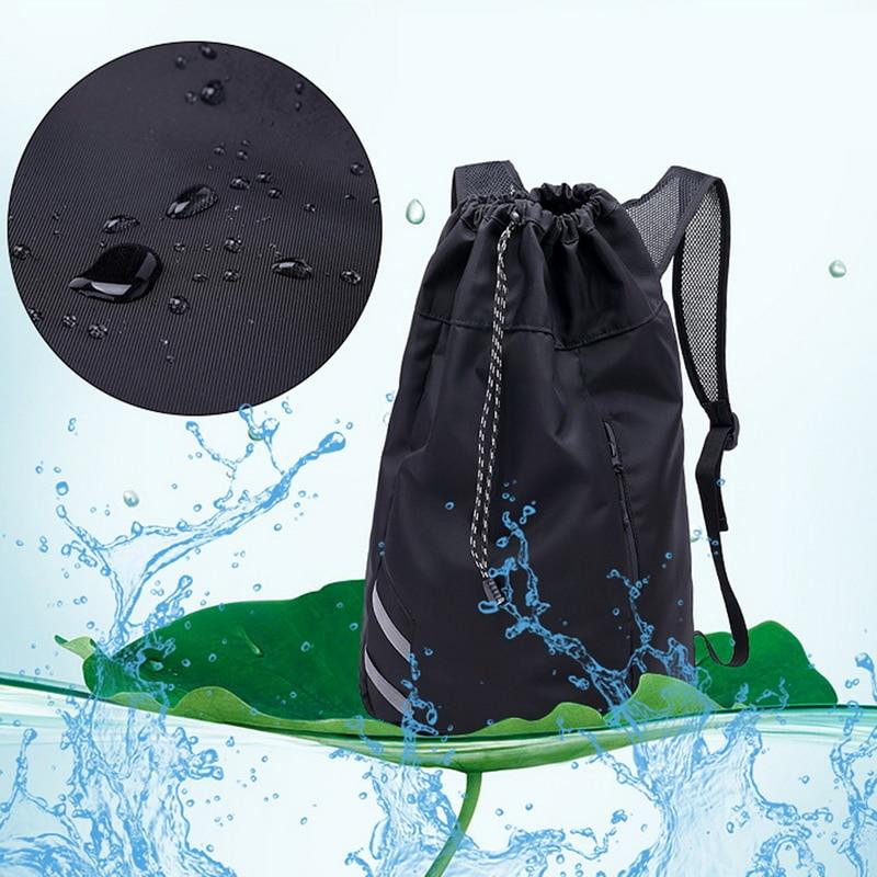 JODIMITTY мужской баскетбольный рюкзак, школьные сумки для мячей, футбола, сумка-ведро для фитнеса, спортивная сумка для активного отдыха-3