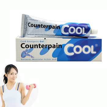 120G tajlandia Counterpain fajne przeciwbólowe krem odpowiednie reumatoidalne zapalenie stawów ból stawów powrót ulga w bólu balsam przeciwbólowe maści tanie i dobre opinie CN (pochodzenie) Counterpain Cool BODY