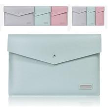 Fashion PU Laptop Sleeve Bag Women Notebook Handbag Case For Macbook Air Pro 11 12 13 15 Retina Lenovo Computer Liner Bag Cover