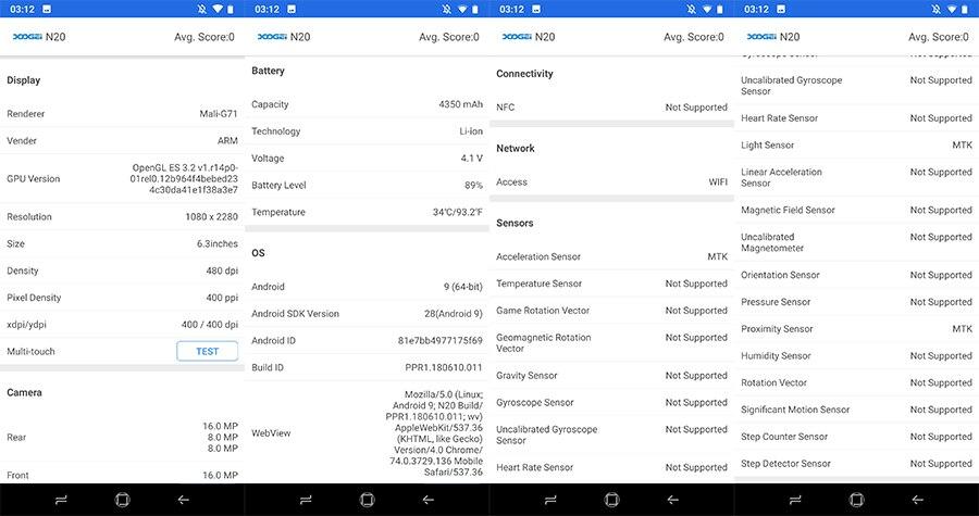 Hf770380cd6dc4a18bc98ef640ab5f44e7 DOOGEE N20 New 2019 Smartphone 6.3inch FHD+ Display 4350mAh 4GB+64GB Octa Core 10w charge Fingerprint 16MP Triple Back Camera