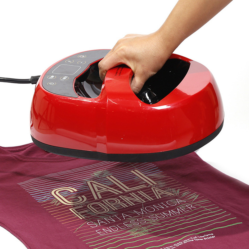 Mini Portable Heat Press Machine Custom Heat Press Stickers Dye Sublimation Transfer Paper Heat Press Printing