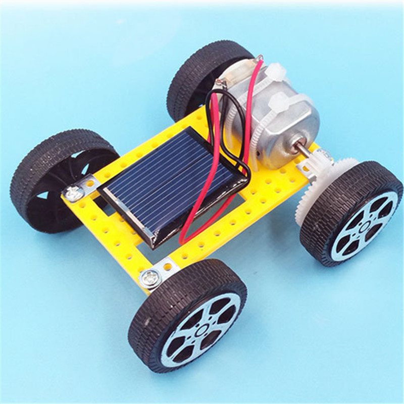 2020 DIY RC Car Solar Power Robot Kit Montessori Gadget Toys for Children Energy Crazy Mini Solar Powered Toy New Kids Solar Toy