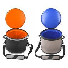 17L кемпинговый кулер, Термосумка-холодильник для кемпинга, сумка для термальной еды, ящик-кулер для обеда, открытый рыболовный лагерь, приготовление пищи