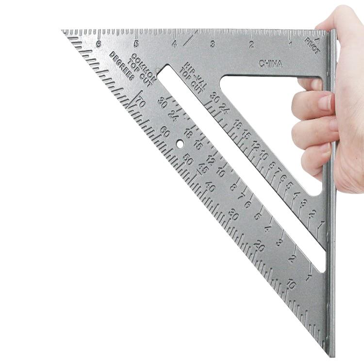 Треугольный угломер, транспортир из алюминиевого сплава, для измерения скорости