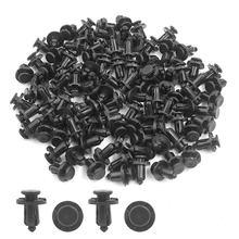 Пластиковые фиксаторы заклепок нажимного типа 10 мм для черных