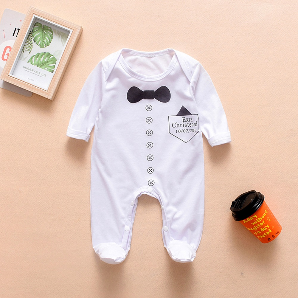 Hf770e2e70aa54a50a99a7a9cd43b05der 2018 New Newborn Baby Boys Girls Romper Animal Printed Long Sleeve Winter Cotton Romper Kid Jumpsuit Playsuit Outfits Clothing