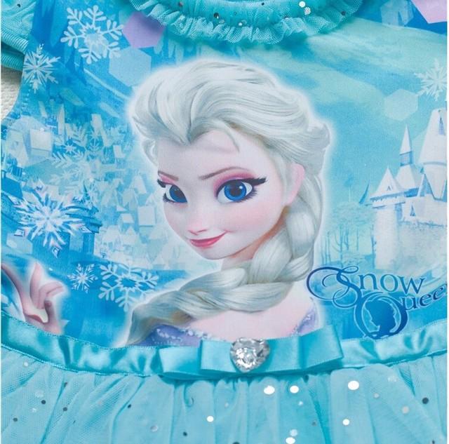 Girls Dress Snow Queen Princess Dresses Cartoon Cosplay Elsa Anna Dresses For Girls Birthday Party Dress Costume Kids Clothing