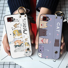 Cute Cat Soft Silicone Phone Case For Lenovo Vibe Z2 Z6 Pro K920 6.0 inch S850 P1 P1M P2 Lovely Wristband TPU Back Cover(China)